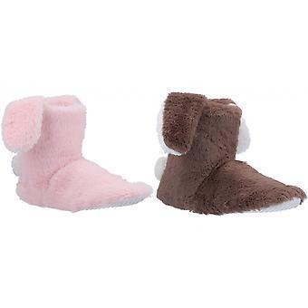 Divaz Womens/Ladies Flopsy Knitted Bootie Slipper