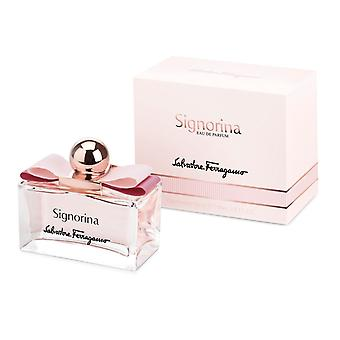 Salvatore Ferragamo Signorina Eau de Parfum Spray 100ml