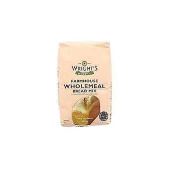 Wrights Baking Wrights Wholemeal Bread Mix - 500g - Single