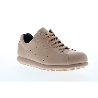 Camper Pelotas XL  Womens Beige Tan Leather Low Top Sneakers Shoes