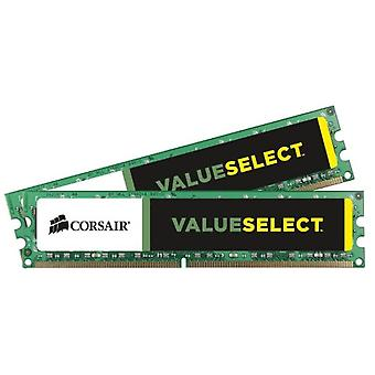 Corsair CMV8GX3M2A1333C9 Érték Select 8 GB (2x4 GB) Mainstream asztali memória, DDR3, 1333 MHz, CL9