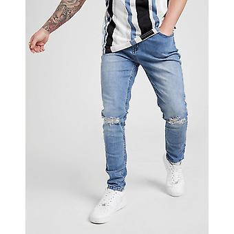 New STATUS Men's Echo Jeans Blue