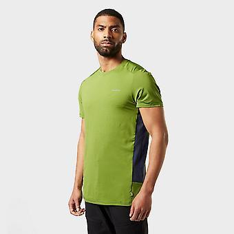 Nieuwe Craghoppers Men's Atmos Short Sleeved T-shirt Groen