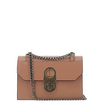 Christian Louboutin 1205061n141 Women's Pink Leather Shoulder Bag