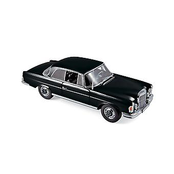 Mercedes Benz 280 SE Coupe (1969) in Black (1:18 scale by Norev 183432)