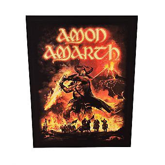 Amon Amarth Surtur Rising Back Patch