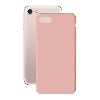Capa móvel Iphone 7? KSIX Capa Macia TPU Rosa