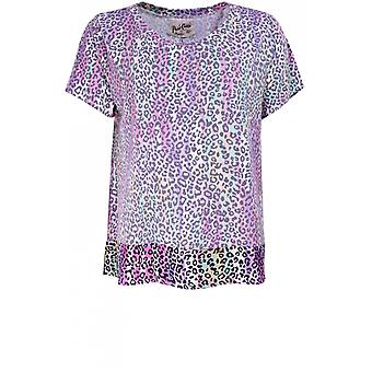 A Postcard from Brighton Pru Leopard Print T-Shirt