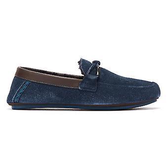 Ted Baker Valcent Mens Dark Blue Slippers