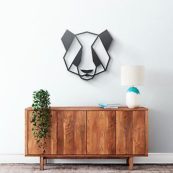 Metal Wall Art - Geometrical Panda