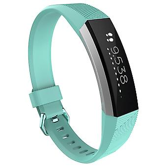 Replacement Bracelet Wristband Strap Wrist Band for Fitbit Alta & Alta HR Buckle[Teal,Small] BUY 2 GET 1 FREE