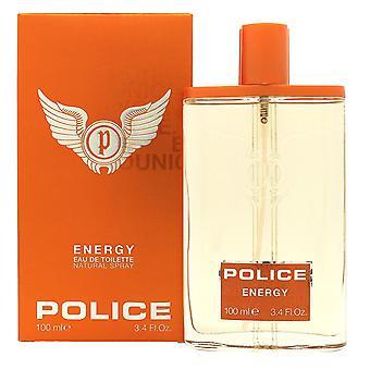 Policji energii Eau de Toilette 100ml EDT Spray