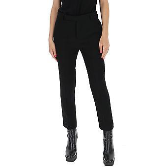 Rick Owens Rp20f2304we09 Women's Black Cotton Pants