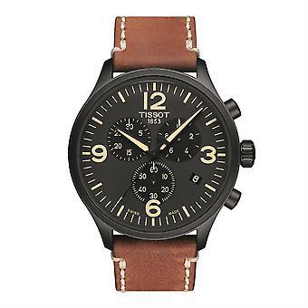 Tissot T116.617.36.057.00 Chrono XL Black Dial Men's Horloge