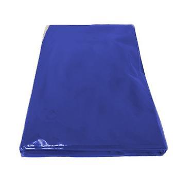 El dormitorio a juego establece la cubierta del colchón del futón SOLAMENTE, 3 plazas triples en azul real. Disponible en 11 colores