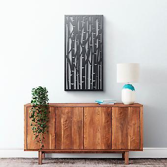 Metal vægkunst-bambus #2
