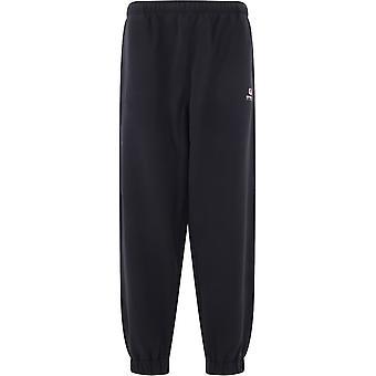 Balenciaga 626310tivd41000 Men's Black Cotton Pants