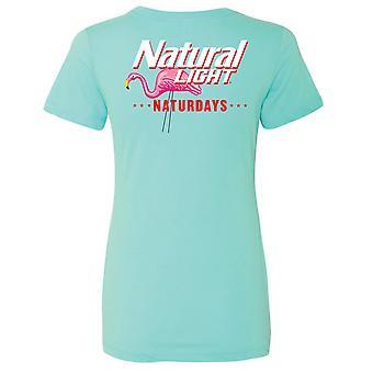 ナチュラル ライト ナチュルデイズ フラミンゴ ウィメンズ&アポス;s T シャツ