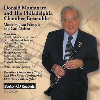 Francaix / Montanaro, Donald - Donald Montanaro & Philadelphia Chamber Ensemble [CD] USA import