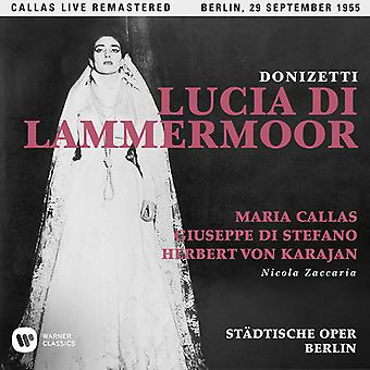 Callas*Maria - Donizetti: Lucia Di Lammermoor (Berlin 29/09/1955) [CD] USA import