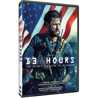 13 horas: importação EUA The Secret soldados de Benghazi [DVD]