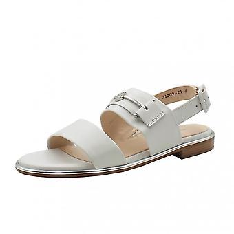 Peter Kaiser Runa Low Heel Open Sandals In White