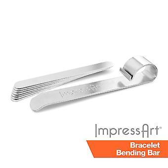 Impressart Metal Stamping Bangle Blank Bending Kit
