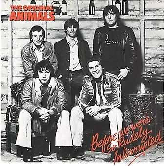 Animals - Before We Were So Rudely Interrupted [CD] USA import