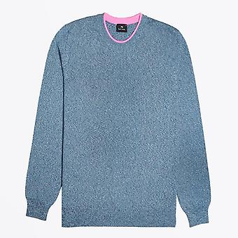 PS Paul Smith  - Crew Neck Pullover - Blue