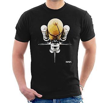 NASA Atlantis Shuttle Vintage Herren T-Shirt