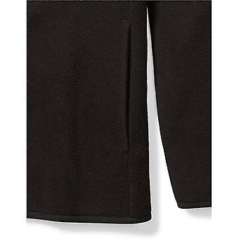 Essentials Little Boys' Full-Zip Polar Fleece Jacket, Zwart, X-Small