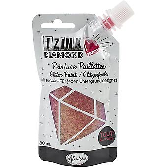 Aladine Izink Diamond Glitter Paint 24 Carats Pink 80ml