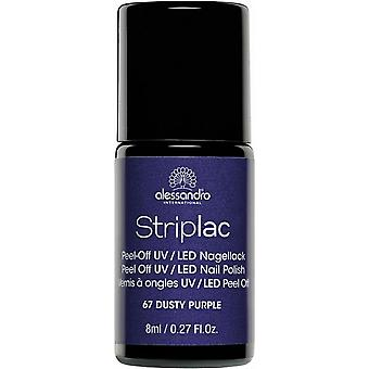 StripLAC Peel Off UV LED Nail Polish - Dusty Purple 8ml (67)