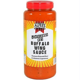 Alfee's Louisiana Hot Buffalo Wing Sauce