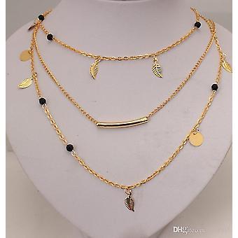 Trelagers guld halsband