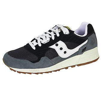 Saucony men's navy and grey shadow 5000 trainers