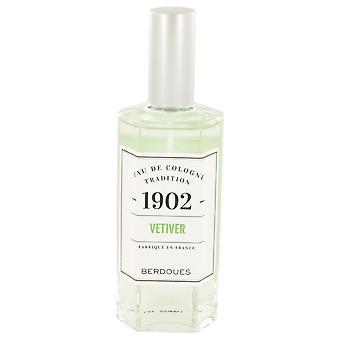 1902 Vetiver Eau De Cologne Spray (Unisex) By Berdoues