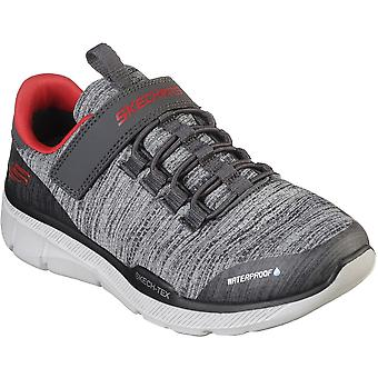 Skechers Boys Equalizer 3.0 Bungee Laced Slip On Trainers
