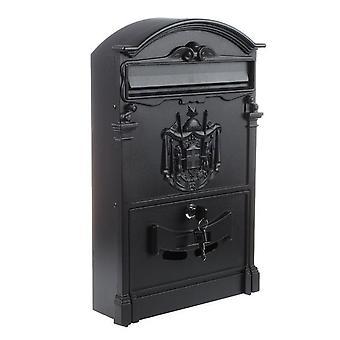 Schweres Aluminium abschließbare sichere Mail Brief Retro Post box/mailbox