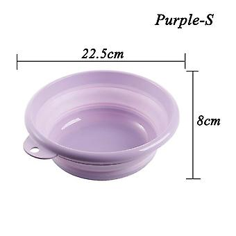 Portable Folding Bucket Basin For Outdoor Fishing Camping Car Wash Kitchen