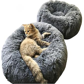 Warm Round Lounger Pet Cushion for Dog and Cat