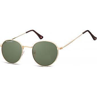 Sonnenbrille Unisex   runde goldene  MP92E-XL