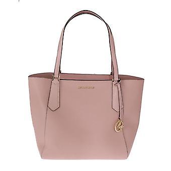 Michael Kors Pink Kimberly Leather Tote Bag MK5045