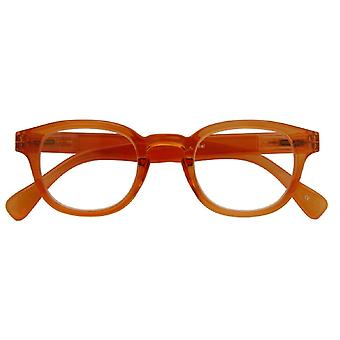 Leesbril Unisex Montel oranje dikte +2,50