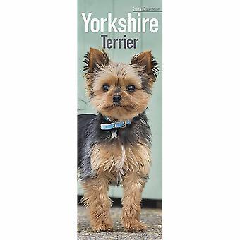Otter House 2021 Slim Calendar-yorkshire Terrier