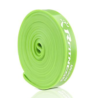 Furinno RFitness RF1506-GR  Professional 41-Inch Long LOOP Stretch Latex Exercise Band, MEDIUM (Green)