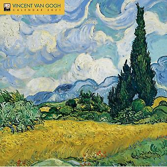 Vincent Van Gogh Wall Kalender 2021 Art Calendar door Gemaakt door Flame Tree Studio