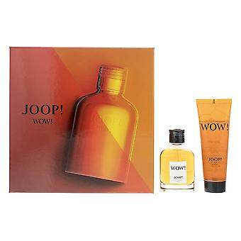 Joop! Wow! Eau de Toilette 60ml - Capelli & Body Wash 75ml Set regalo per gli uomini - NUOVO.