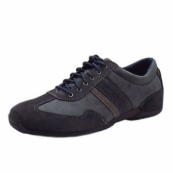 Camel Active Gregory Space Men's Casual Lace Up Trainers In Jeans