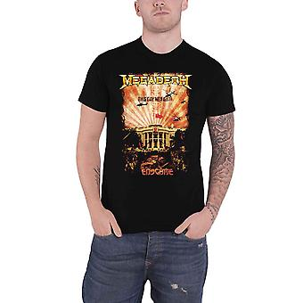 Megadeth T Shirt China Whitehouse Band Logo new Official Black